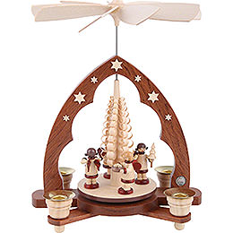 1 - tier pyramid  -  Gift bringing Angels  -  28cm / 11 inch