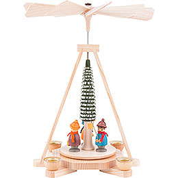 1 - tier pyramid lantern children  -  23cm / 9inch
