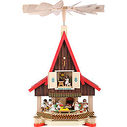 2 - Tier Advent's House Angel's Bakery  -  53cm / 21 inch