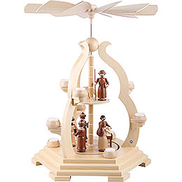 2 - Tier Pyramid  -  Bow Design  -  65cm / 25 inch