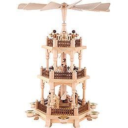 3 - stöckige Pyramide  -  Zur Weihnacht  -  45cm