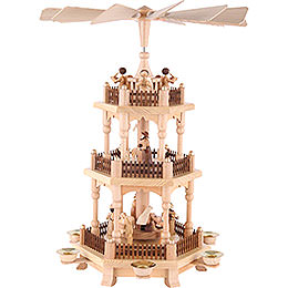 3 - tier Pyramid  -  Christmas time  -  45cm / 18 inches