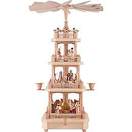 4 - Tier Pyramid  -  Nativity   -  45cm / 17.7 inch
