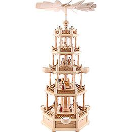 5 - tier pyramid Nativity  -  74cm / 30inch