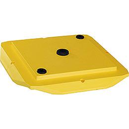 Abdeckplatte 29 - 00 - A13  -  gelb