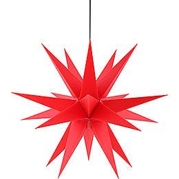 Adventsstern für den Innen - und Aussenbereich rot  -  60cm