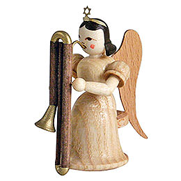 Angel long skirt with contrabassoon, natural  -  6,6cm / 2.5inch