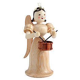 Angel long skirt with drum, natural  -  6,6cm / 2.5inch