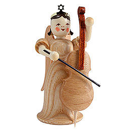 Angel long skirt with violoncello, natural  -  6,6cm / 2.5inch