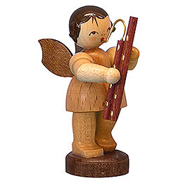 Angel with Bassoon  -  Natural Colors  -  Standing  -  6cm / 2,3 inch