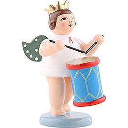 Angel with Crown and Churn  -  6,5cm / 2.5 inch