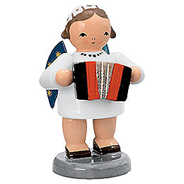 Angel with Harmonika  -  5cm / 2 inch