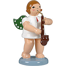 Angel with Heckelphone  -  6,5cm / 2.5 inch