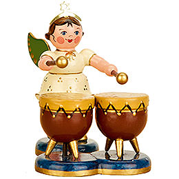 Angel with Kettle drum 6,5cm / 2,5inch