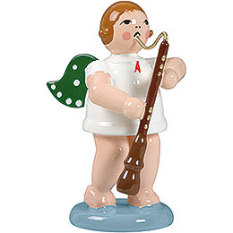 Angel with old oboe  -  6,5cm / 2.5inch