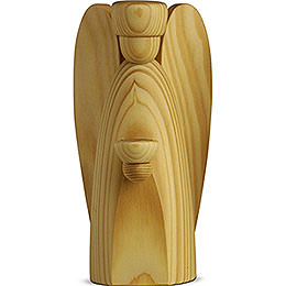 Angle candle holder, natural  -  17cm / 6.7inch