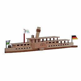 Bastelset Elbdampfschiff 'Dresden'   -  24x7cm