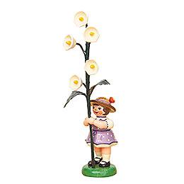 Blumenkind Mädchen mit Maiglöckchen  -  11cm
