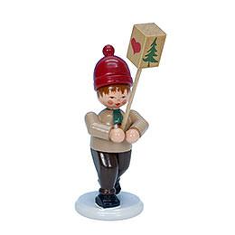 Boy with Lantern  -  8,0cm / 3 inch