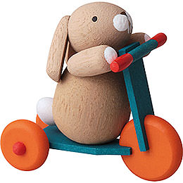 Bunny on Scooter  -  3,5cm / 2inch / 1.4 inch