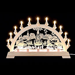 Candle Arch  -  Christmas Fair  -  65x40cm / 26x16 inch