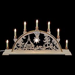 Candle Arch  -  Seiffen Church  -  63cm x 32cm / 25 x 13 inches