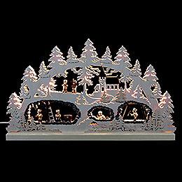 Candle Arch  -  The Mine  -  62x37x5,5cm / 24x15x2 inch