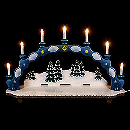 Candle Arch small size  -  75 x 18,5 x 47cm / 30 x 7 x 19inch