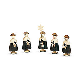 Carolers 5 Figurines  -  4,5cm / 2 inch
