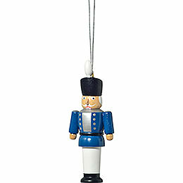 "Christbaumschmuck ""Nussknacker blau""  -  8cm"