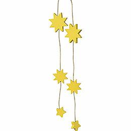 """Christbaumschmuck """"Sterne gelb""""  -  33cm"""