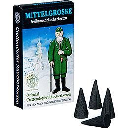 Crottendorfer Incense cones Christmas Incense  -  medium sized