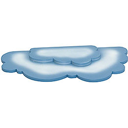 Doppelwolke für Schneeflöckchen  -  35x18cm
