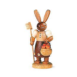 Easter bunny Gardener  -  11cm / 4 inch
