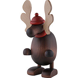 Elch Olaf, stehend  -  14,5cm