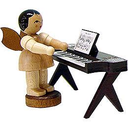 Engel am Keyboard  -  natur  -  stehend  -  6cm