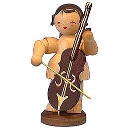 Engel mit Cello  -  natur  -  stehend  -  9,5cm