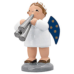 Engel mit Schalmei  -  5cm
