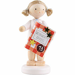 Flax haired angel with bakery book (13) -  5cm