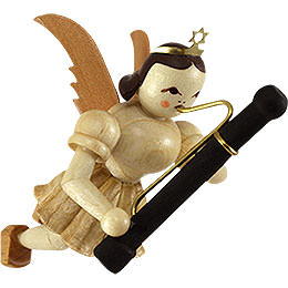 Floating angel with bassoon  -  6,6cm / 2.5inch