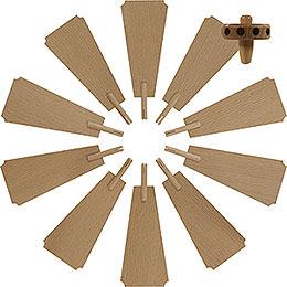 Flügelrad für Weihnachtspyramide  -  Durchmesser = 40cm