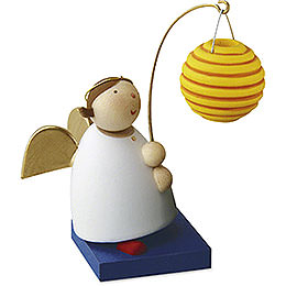 Guardian angel with ball lantern  -  3,5cm / 1.3inch
