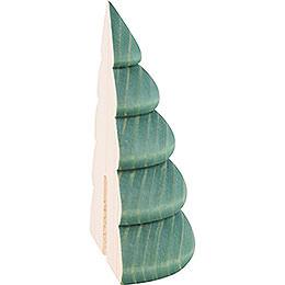 Halber Baum für Wandrahmen grün  -  9,5cm