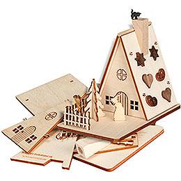 Handicraft Set Smoker House Witche's House  -  11cm / 4.3 inch