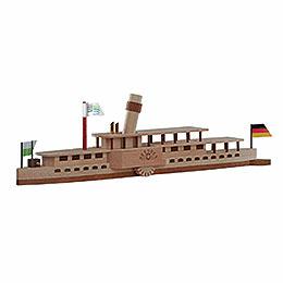 Handicraft set steamboat 'Dresden'  -  23x7cmcm / 9x3inch