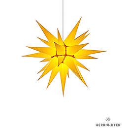 Herrnhuter Moravian star I6 yellow paper  -  60cm