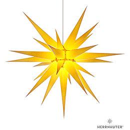 Herrnhuter Moravian star I8 yellow paper  -  80cm/31inch