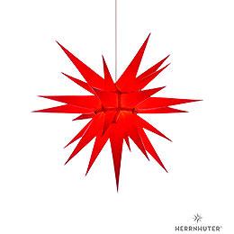 Herrnhuter Stern I7 rot Papier  -  70cm