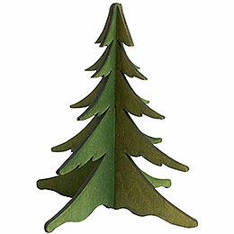 Holz - Steckbaum gr�n  -  13cm