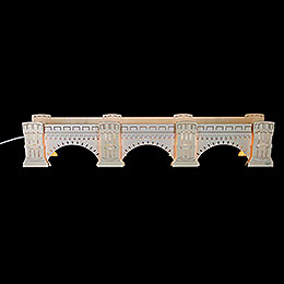 Illuminated stand Augustus Bridge  -  72x13x11,5cm